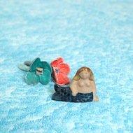 Lisa Larson Miniatyrer Sjojungfru / リサ・ラーソン 人魚