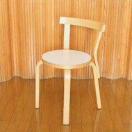 Alvar Aalto artek Chair  No.68 / 1980年代 アルヴァ・アアルト アルテックチェア No.68 ホワイト(B)