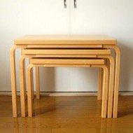 Alvar Aalto artek nest table 88 / 1970-80年代 アルヴァ・アアルト ネストテーブル 88