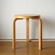 1970年代 Alvar Aalto artek Stool60 / アルヴァ・アアルト アルテック スツール No.60 ナチュラル