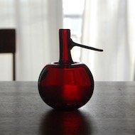 Oiva Toikka Apple Vase / オイヴァ・トイッカ アップルベース レッド