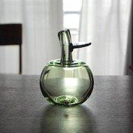 Oiva Toikka Apple Vase / オイヴァ・トイッカ アップルベース 青緑