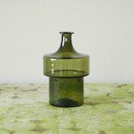 iittala Timo Sarpaneva 2517 green bottle / イッタラ ティモ・サルパネヴァ ボトル