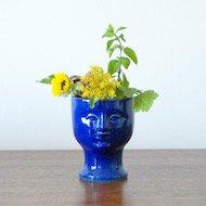 Lisa Larson K-studion Vase / リサ・ラーソン K−スタジオ ベース(青)