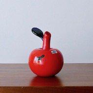 iittala Oiva Toikka Apple Vase / イッタラ オイヴァ・トイッカ アップルベース(赤×ラスター)