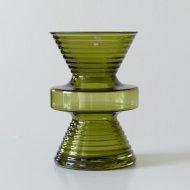 Riihimaen lasi Nanny Still  No.1444 / リーヒマエン・ラシ ナニースティル 砂時計 花瓶