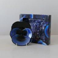 Arabia Birger Kaipiainen Viola plate/アラビア ビルゲル・カイピアイネン ヴィオラ すみれ(箱と説明書付き)