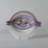 Arabia GOG kala hand painted plate  /  アラビア W29cm 魚のプレート(B)
