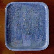 Rorstrand Sylvia Leuchovius Relief / ロールストランド シルビア・レウショビウス 陶板
