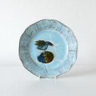 Rut Bryk  Blue bird's plate / ルート・ブリュック   水色の鳥のプレート(直径27cm)