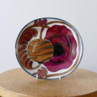 Arabia Birger Kaipiainen Art piece /アラビア ビルゲル・カイピアイネン 花の飾り皿