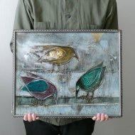 Rut Bryk   / ルート・ブリュック   陶板(鳥)