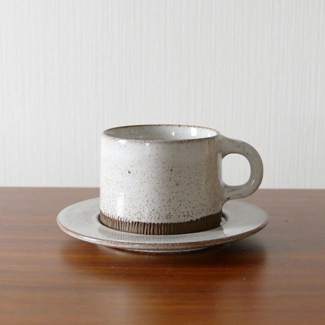 Signe Persson Melin Cup & Saucer / シグネ・ペーション・メリン カップ&ソーサー(D)