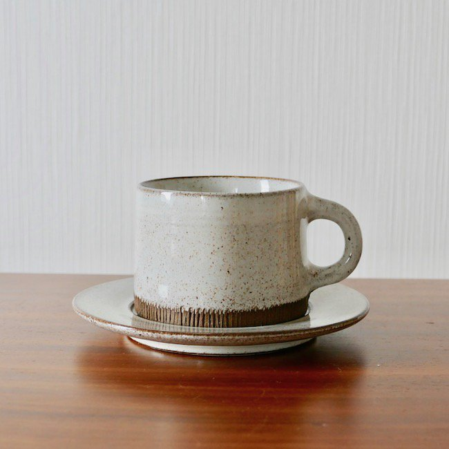 Signe Persson Melin Cup & Saucer / シグネ・ペーション・メリン カップ&ソーサー(C)