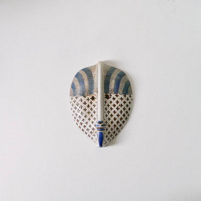 Gustavsberg Lisa Larson Pablo  / グスタフスベリ リサ・ラーソン マスク パブロ(A)