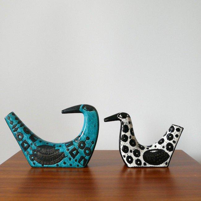 【P.O.R 価格はお問い合わせください】Rorstrand Birger Kaipiainen  /アラビア ビルゲル・カイピアイネン 鳥のオブジェセット