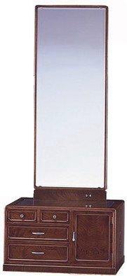 民芸座鏡 YK409 古代 21一面鏡 うるしん