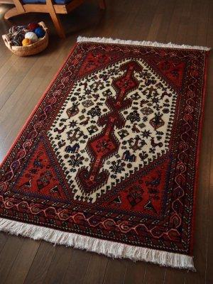 マハリ絨毯(部族絨毯) ナスルアバッド産  b6183c