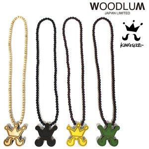 【KINGSIZE】× WOODLUM HiGE WOOD NECKLACE