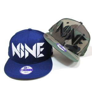 【NINE RULAZ】NINE LOGO KIDS NEW ERA CAP/KIDS / LAST INDIGO