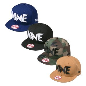 【NINE RULAZ】NINE LOGO NEW ERA CAP / LAST KHAKI