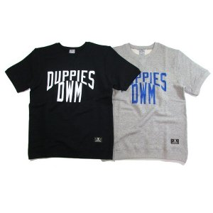 【DUPPIES】SHORT SLEEVE CREW-NECK SWEAT SHIRTS