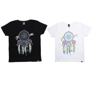 【Tome2H】DREAM CATCHER T-SHIRT / LAST WHITE
