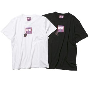 【IRIE by irielife】× FREE RAGE BEETLE BOX LOGO TEE / LAST BLACK M