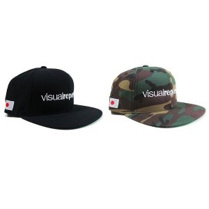 【Visual Reports】-再入荷-VISUAL REPORTS SNAPBACK CAP