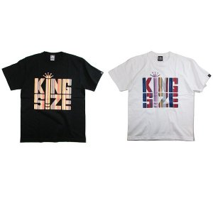【KINGSIZE】MULTI STRIPE BLUNT TEE