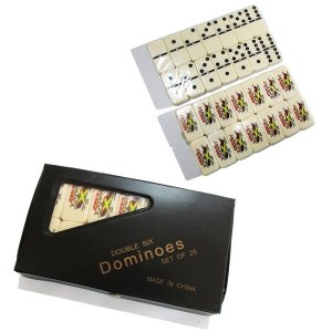 【Jamaica Goods】DOUBLE SIX DOMINOES JAMAICA