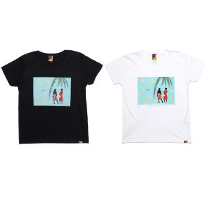 【Tome2H】COLLAGE T-SHIRT / LAST WHITE