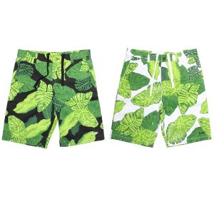 【MURAL】BIG LEAF SHORTS / LAST BLACK M