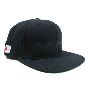 【Visual Reports】-再入荷-VISUAL REPORTS SNAPBACK CAP(BLACK/BLACK)