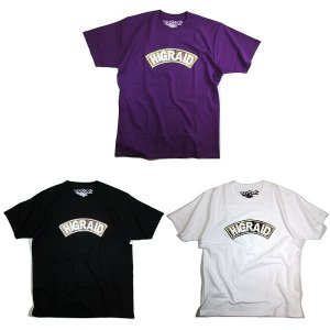 【Visual Reports】REAL HIGRAID ARCH TEE / LAST PURPLE M