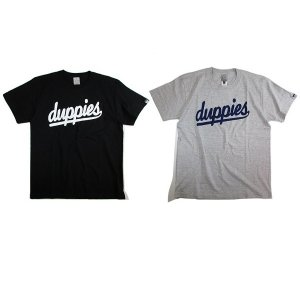 【DUPPIES】CASPER / SHORT SLEEVE TEE-SHIRTS / LAST BLACK M