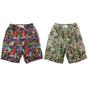 【ANDSUNS】LIFE STYLE SWIM SHORT / LAST HIPHOP LIFE M