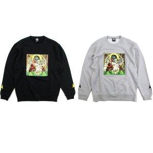 【ANDSUNS】BABY JESUS CREW / LAST MIX GREY M