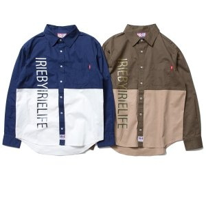 【IRIE by irielife】IRIE 2TONE SHIRT