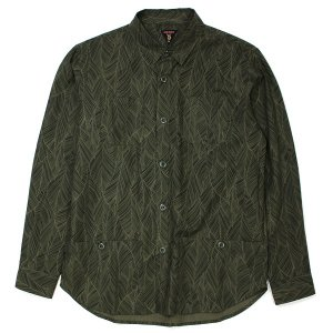 【VINYL JUNKIE】VJ BIG LEAF WORK SHIRT / LAST L