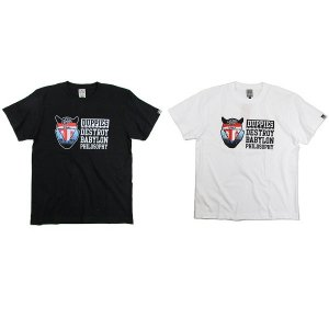 【DUPPIES】SIENCE / COPY / SHORT SLEEVE TEE-SHIRTS / LAST BLACK M