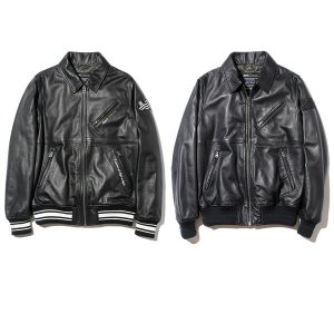 【Back Channel】SHEEP SKIN LEATHER JACKET
