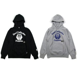 【DUPPIES】SOUL COLLECTOR 2 / PULLOVER HOODED SWEAT / LAST BLACK M
