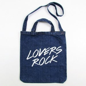 【VINYL JUNKIE】VJ DENIM SHOULDER BAG