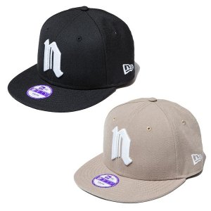 【NINE RULAZ】N LOGO KIDS NEW ERA CAP / KIDS  / LAST BLACK
