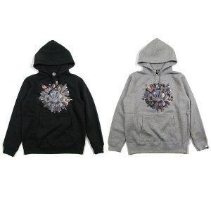 【ANDSUNS】NIGHT CITY SUNS PULLOVER / LAST MIX GRAY XL