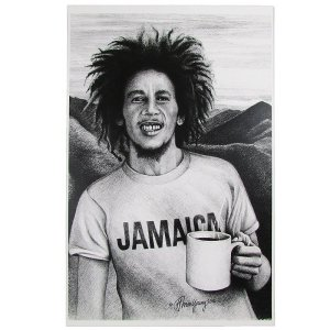 "【Jamaica Goods】BOB MARLEY COLLECTION ""ONE CUP OF COFFEE"""