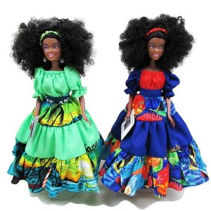 【JAMAICA GOODS】JAMAICAN FASHION DOLL / ISLAND DOLL(C)