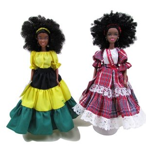 【JAMAICA GOODS】JAMAICAN FASHION DOLL / ISLAND DOLL(D)