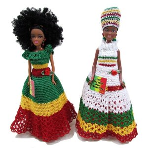 【JAMAICA GOODS】JAMAICAN FASHION DOLL / ISLAND DOLL(E)